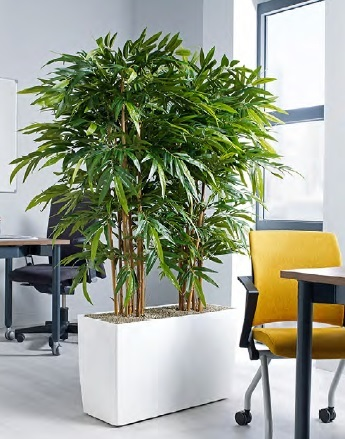 replica plants for the office